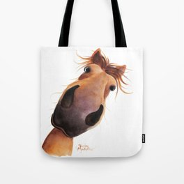 Happy Horse ' MAD MAX ' by Shirley MacArthur Tote Bag