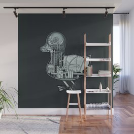 Duck Works Wall Mural