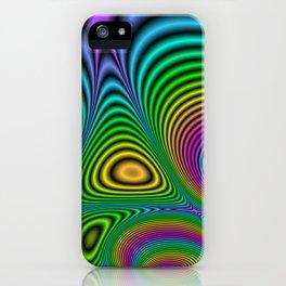 Fractal Op Art 7 iPhone Case