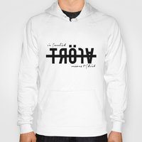 lost in translation Hoodies featuring Lost in Translation by Mrk Laboratory