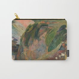 The Flageolet Player on the Cliff, Paul Paul Gauguin Carry-All Pouch