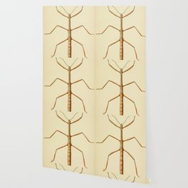Antique Stick Insect Wallpaper