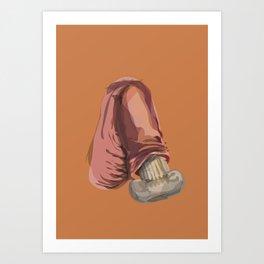 Erection Art Print