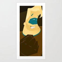 Hero 1 Art Print