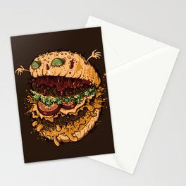 Monster Burger Stationery Cards
