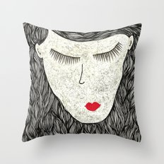that all elusive peace of mind Throw Pillow