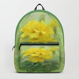 Summer Time Marigold Garden Backpack