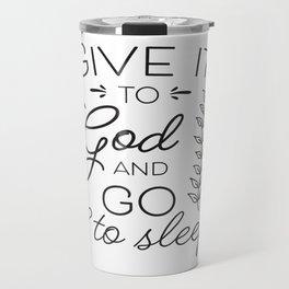 Prayer Jesus Faith Bible Psalm Gift Travel Mug