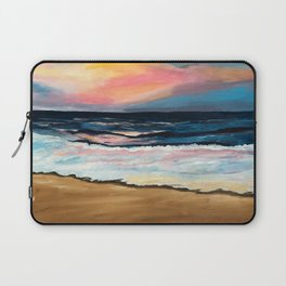 """OBX Sunset"" Beach Art Laptop Sleeve"