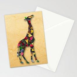 Animal Mosaic - The Giraffe Stationery Cards