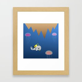 Whale 3 of 3 Framed Art Print