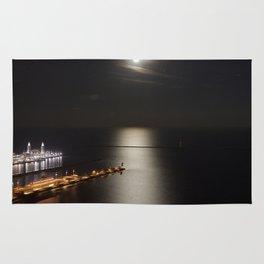 Navy Pier Moonlight Rug