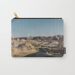 Windy Desert Road Carry-All Pouch