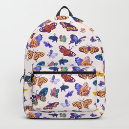 Butterflies Day - bright Backpack