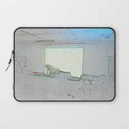 BLACK Electronic Underground #2 Laptop Sleeve