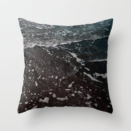 semi-neon ocean Throw Pillow