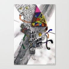 Psychoactive Bear 7 Canvas Print