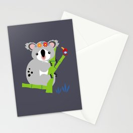 Lady Koala Stationery Cards