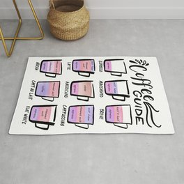 Coffee Guide - Violet Colors Rug