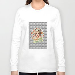 happy girls are the prettiest || Marilyn Long Sleeve T-shirt
