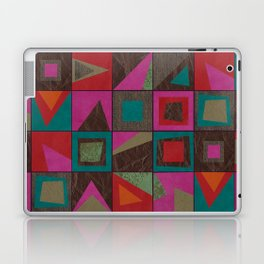 squares of colors and shreds Laptop & iPad Skin