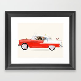 road trip sept Framed Art Print