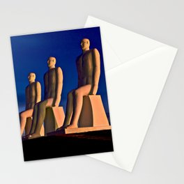 MAN AT SEA in Esbjerg on the West Coast of Denmark Stationery Cards