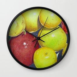 Hawaiian Passion Fruit Wall Clock