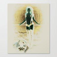 Wolf Den Canvas Print