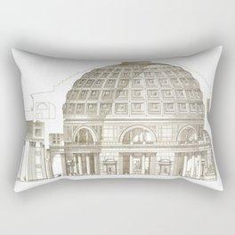 Pantheon Of Rome Rectangular Pillow