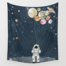 solar collector Wall Tapestry