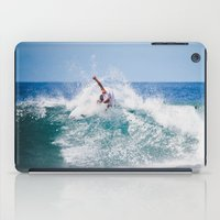 surfer iPad Cases featuring Surfer by Carmen Moreno Photography