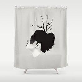 Growth Shower Curtain