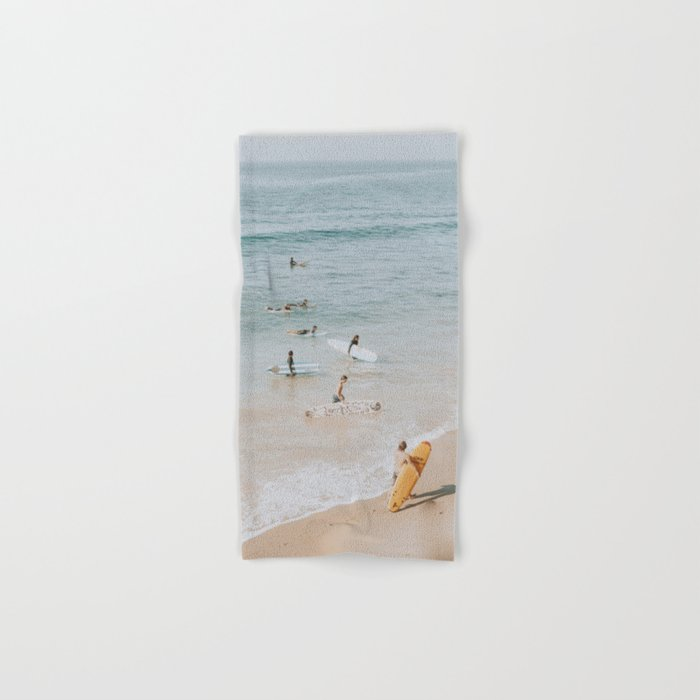 lets surf iii Hand & Bath Towel