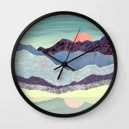 Summer Dawn Wall Clock