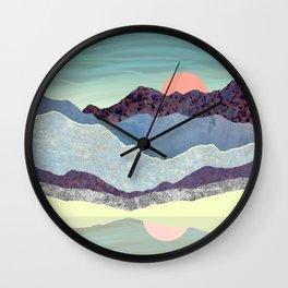 Summer Dawn Wall Clock