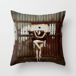 Never Miss a Chance to Dance Throw Pillow