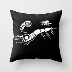 Father, Son, Holy Spirit Zooplankton Throw Pillow