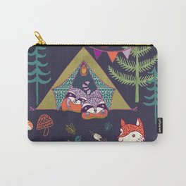 Racoon's Campout Carry-All Pouch