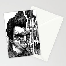 Dave's Grease Ghost Stationery Cards