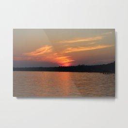 Sunset Over Lake Waccamaw 4 Metal Print