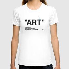 """""""ART"""" T-shirt"""
