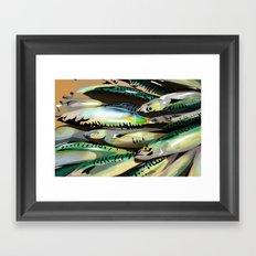 Seafood Market Framed Art Print
