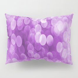 Bokeh Light In Violet #decor #society6 #homedecor Pillow Sham