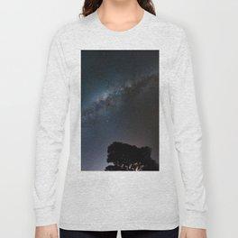 The Milky Way Galaxy Long Sleeve T-shirt