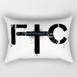 FindChaos - Logo Rectangular Pillow