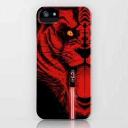 Dark Side Saber-Toothed Tiger iPhone Case