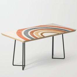 Abstract Rainbow 88 Coffee Table