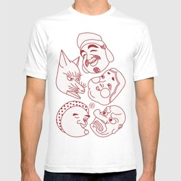 Japanese Masks T-shirt