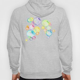 Rainbow Pastel Bubbles Floating Hoody